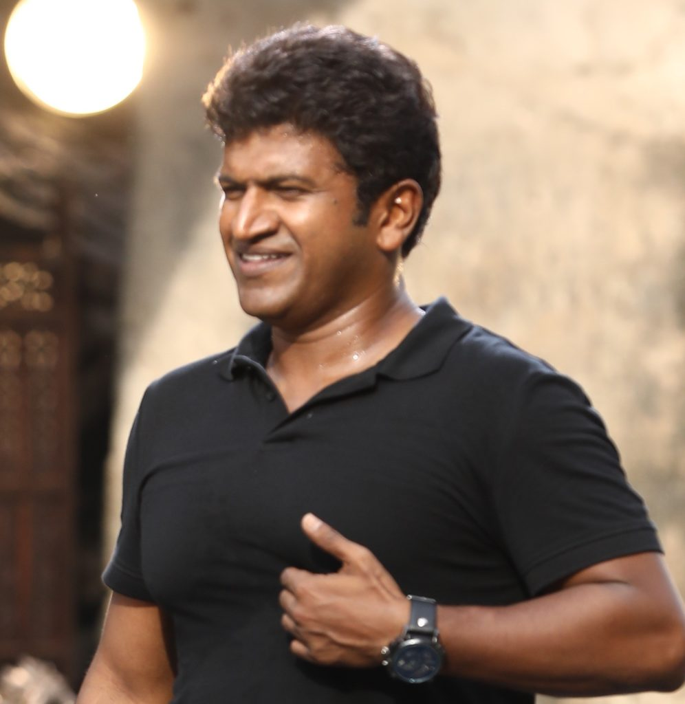 Puneeth in Natasaarvabhowma