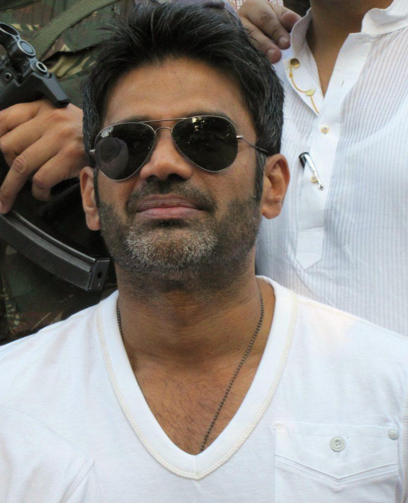 Sunil Shetty in Darbar