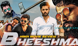 Bheeshma Hindi Dubbed Full Movie South Movie King